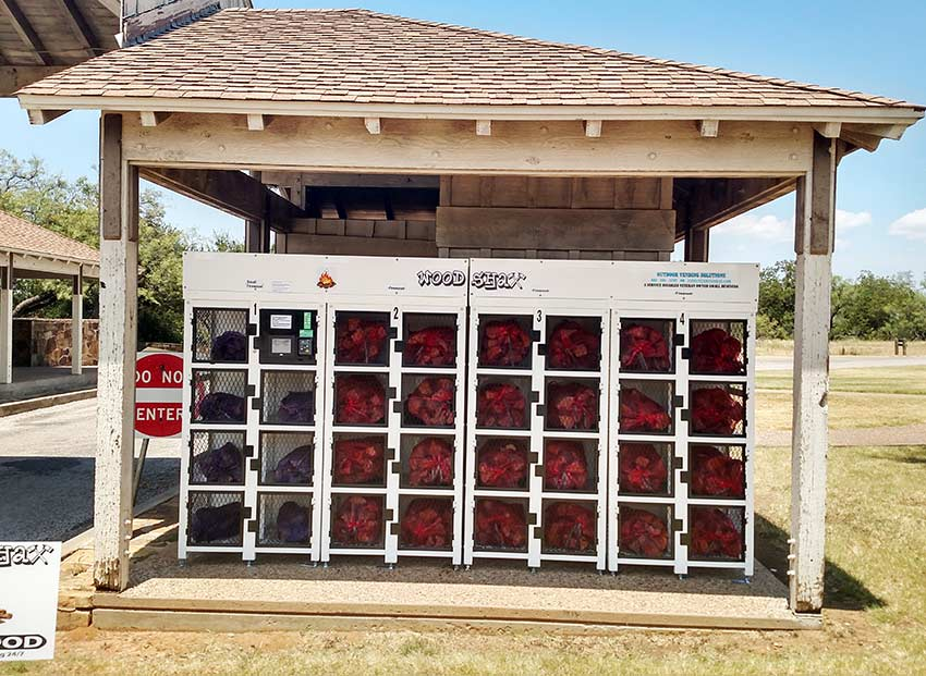 Firewood Vending Machine