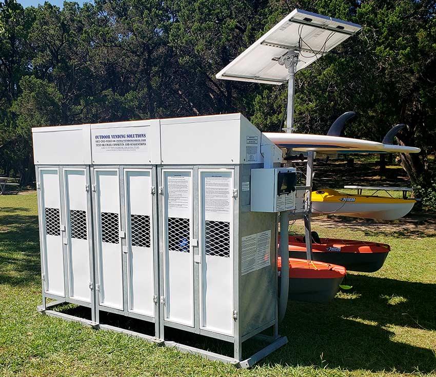Kayak Vending Machines